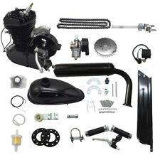 80cc 2 Stroke Motor Engine Kit Gas for Motorized Bicycle Bike Black Upgraded New