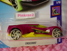 CRESCENDO #133 USA 50☀purple/yellow☀GLOW☀Best for Track✰2018 Hot Wheels case G