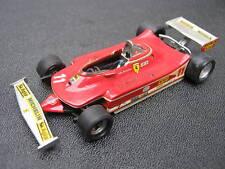 1:43 FERRARI 312t4 1979 WC J. Scheckter F.D.S. MODELCAR handbuilt in Showcase