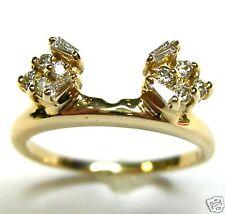 1/3 CTTW DIAMOND WRAP RING ENHANCER IN 14K YELLOW GOLD