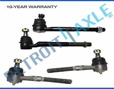 New 4 Kit: Front Inner & Outer Tie Rod Ends for F-150 Navigator - 2WD RWD