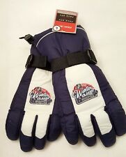 DETROIT RED WINGS GLOVES NYLON INSULATED WINTER SKI NHL WINTER CLASSIC SIZE X