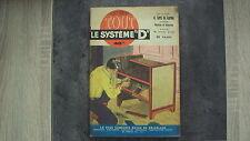 """Magazine Système """"D"""" - n°88 - 04/1953"""