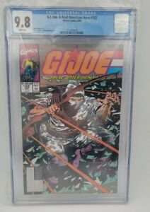 GI Joe A Real American Hero 103, Marvel 1987 - CGC 9.8 White Pages - Classic!