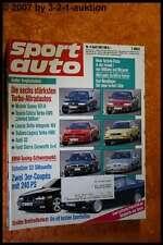 Sport Auto 4/92 Nissan Sunny GTI-R Lancia Delta Audi S2