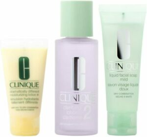 Clinique - System in 3 Stages Intro Kit 2 DRY TO NORMAL SKIN