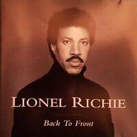 CD LIONEL RICHIE BLACK TO FRONT Ref 3278