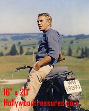 "Steve McQueen~Great Escape~Photo~Color~Poster ~16"" x 20"""
