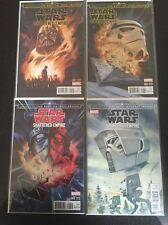 Star Wars Shattered Empire 1-4 Set Disposible Heroes Variant Edition NM tedesco