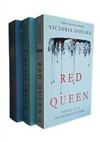 Red Queen 3 Books Victoria Aveyard Glass Sword King's Cage Teen Love Fantasy New