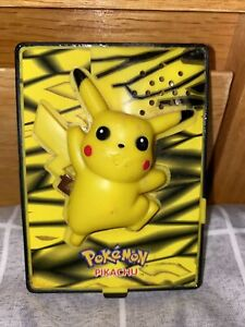🚨1 Cent Starting Bid🚨Pokémon Pikachu Burger King Card Toy