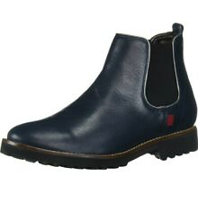 NIB MARC JOSEPH  LEATHER NAVY LEATHER CHELSEA BOOTS 7.5 M