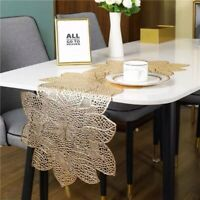 Table Runner Table Placemat PVC Insulation Tableware Bauhinia Table Decorations