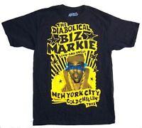 Biz Markie Live Uncut Cold Chillin' Tour Black T Shirt New Official