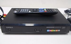 TOPFIELD TRF2200 HIGH DEFINITION PVR SET TOP BOX - Twin Tuner /500GB HDD