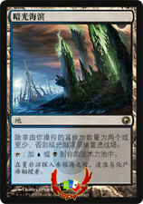 MTG SCARS OF MIRRODIN CHINESE DARKSLICK SHORES X1 NM CARD