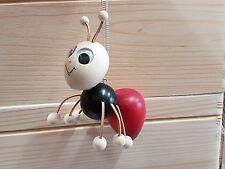 Divertente Giocattolo in Legno Da appendere su una molla nel a forma di Wasp1