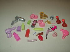 BARBIE KEN BRATZ DOLL ACCESSORY BUNDLE ( COSMETICS AND BEAUTY SUPPLIES )