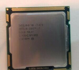 Intel SLBJG i7-870 Quad Core 2.93Ghz 8M Cache  LGA1156