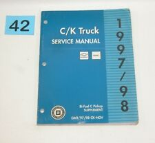 1997 1998 CK Truck Bi Fuel Factory Service Manual Supplement USED CONDITION #42