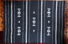 Tischdecke Bettüberwurf Tagesdecke blau/weiß Baumwolle/Kunstfaser