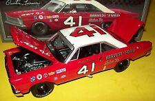 Curtis Turner 1965 Galaxie #41 Harvest Ford Wood Bros 1/24 NASCAR Legends New