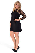 Plus Size Synthetic Party Knee Length Dresses for Women