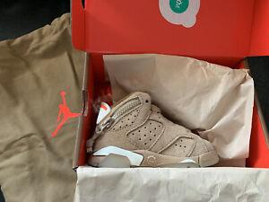 Air Jordan 6 x Travis Scott British Khaki Toddler Uk 4.5/Us 5/Eu 21