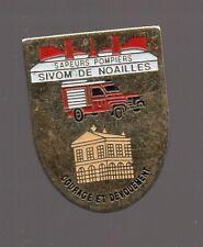 Pin's pompier / Sapeurs pompiers, SIVOM de Noailles (Oise)