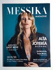 MESSIKA Magazine No.4 SS 2019 Catalog KATE MOSS, EDITA VILKEVICUTE, JOAN SMALLS