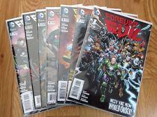 Forever Evil #1 2 3 4 5 6 7 Complete Series Dc Geoff Johns David Finch Jla