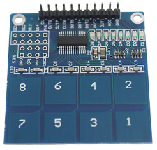 Ttp226 8 Channel Touch Sensor Capacitive Switch Button Module Button Pad 2 X 4