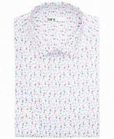 Bar Iii Men's Slim-Fit Performance Stretch Floral Vine Dress Shirt Sz M,L XL $65