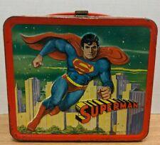 Superman DC Comics 1978 Aladdin Metal Lunch Pale 092419DBT4
