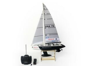 """25"""" RC Remote Control 4 Channels Sailboat 120SH Motor - BMW Oracle"""