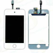 ipod touch 4th genneration gen LCD SCREEN WHITE