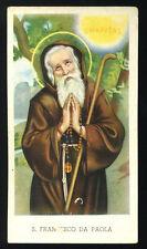 santino-holy card EGIM n.79 bis S.FRANCESCO DA PAOLA