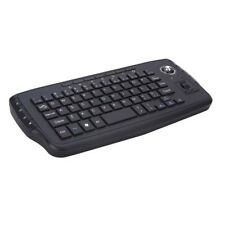 2.4G Mini Wireless Keyboard Multimedia Functional Trackball Air Mouse For Laptop