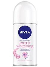 3 x 25 ml. NIVEA EXTRA WHITENING DEODORANT ROLL ON P