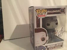 Funko Halloween Michael Myers Pop Signed by Nick Castle in person with COA