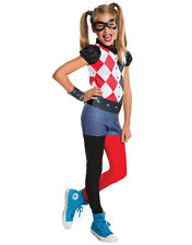 "Harley Quinn Kids Costume,Small, Age 3 - 4 years, HEIGHT 3' 8"" - 4' 0"""