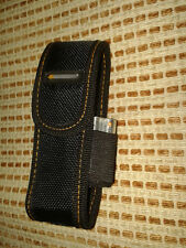 "A Nylon Sheath For Flashlight with up to 4.52"" length with adjustable belt loop"