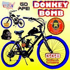 """48cc 49cc 50cc 66cc 80cc 2-STROKE motorized bike KIT WITH 26"""" BIKE 7 seed"""