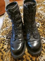 BATES GoreTex Boots 10.5 R Mens Black Leather Boots Military Combat Boot USA