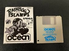 Rainbow Islands An Ocean Game for Commodore Amiga Disk & Manual