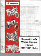 """2005 Suzuki """"K5"""" Models Motorcycle & Atv Wiring Diagram Manual 99923-54005"""