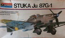 Vintage Monogram German WWII Stuka Ju 87G-1 1:48 scale  Model Kit #6840