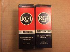 Nos Nib Matched Pair Rca 0D3 Vacuum Tubes 1946 Vr-150 Guaranteed