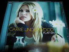 Carrie Underwood Play On Australian CD - Like New
