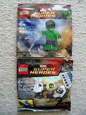 LEGO Marvel Super Heroes - Rare - Hulk 5000022 & 5003084 - New & Sealed